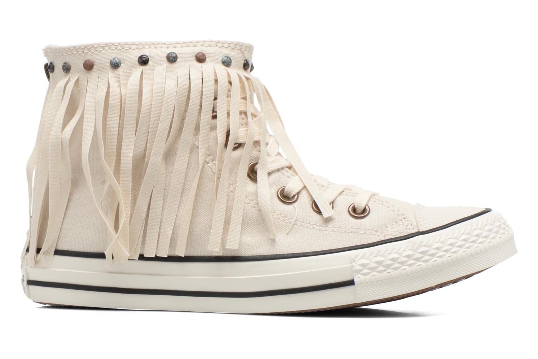 Sneaker Converse Chuck Taylor All Star Fringe Hi W beige ansicht von hinten