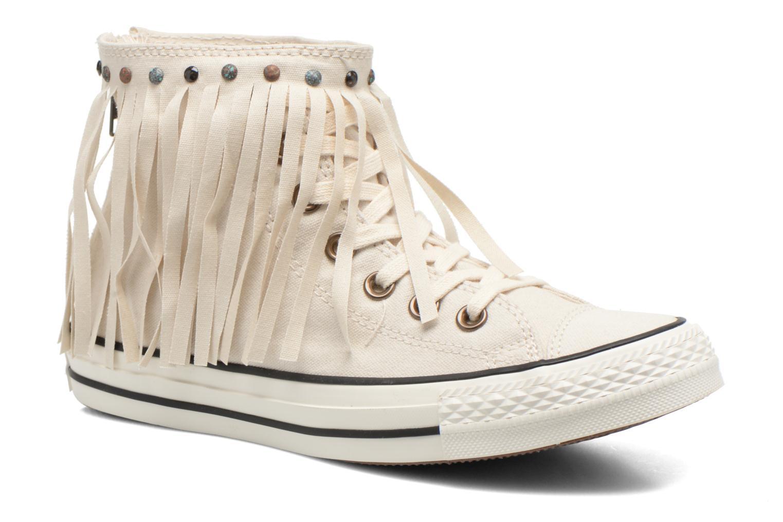 Sneaker Converse Chuck Taylor All Star Fringe Hi W beige detaillierte ansicht/modell