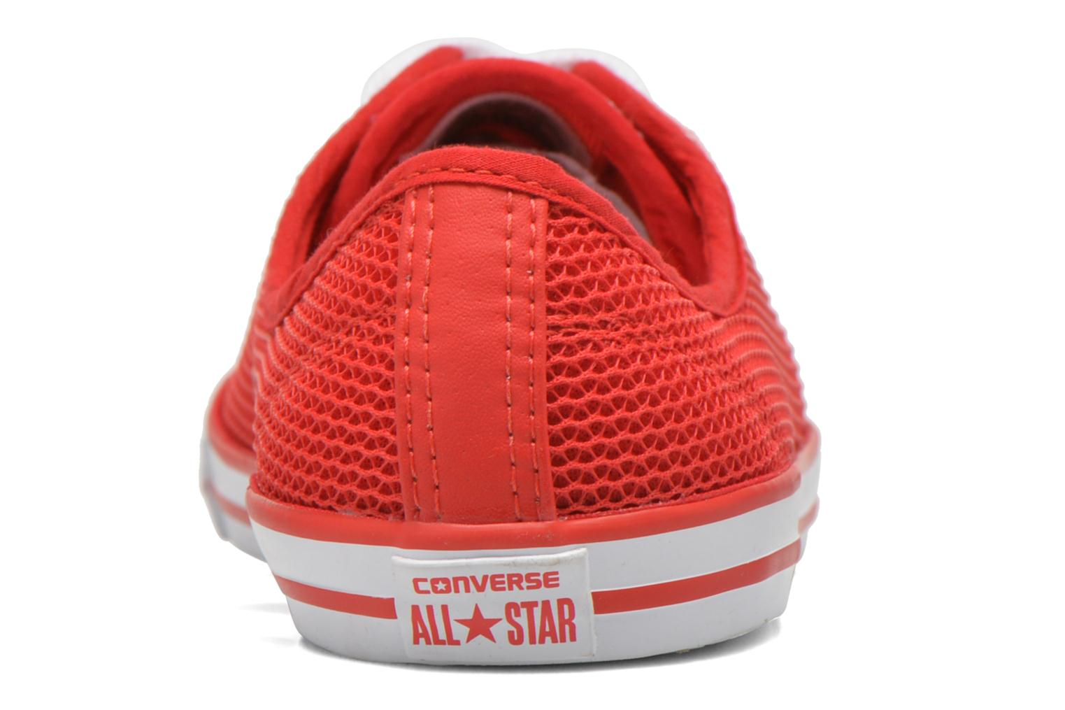 Baskets Converse Chuck Taylor All Star Dainty Ox W Rouge vue droite