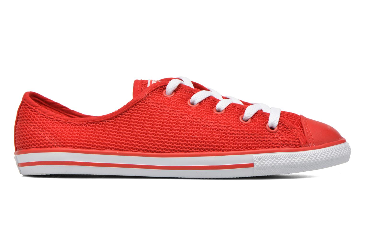 Baskets Converse Chuck Taylor All Star Dainty Ox W Rouge vue derrière
