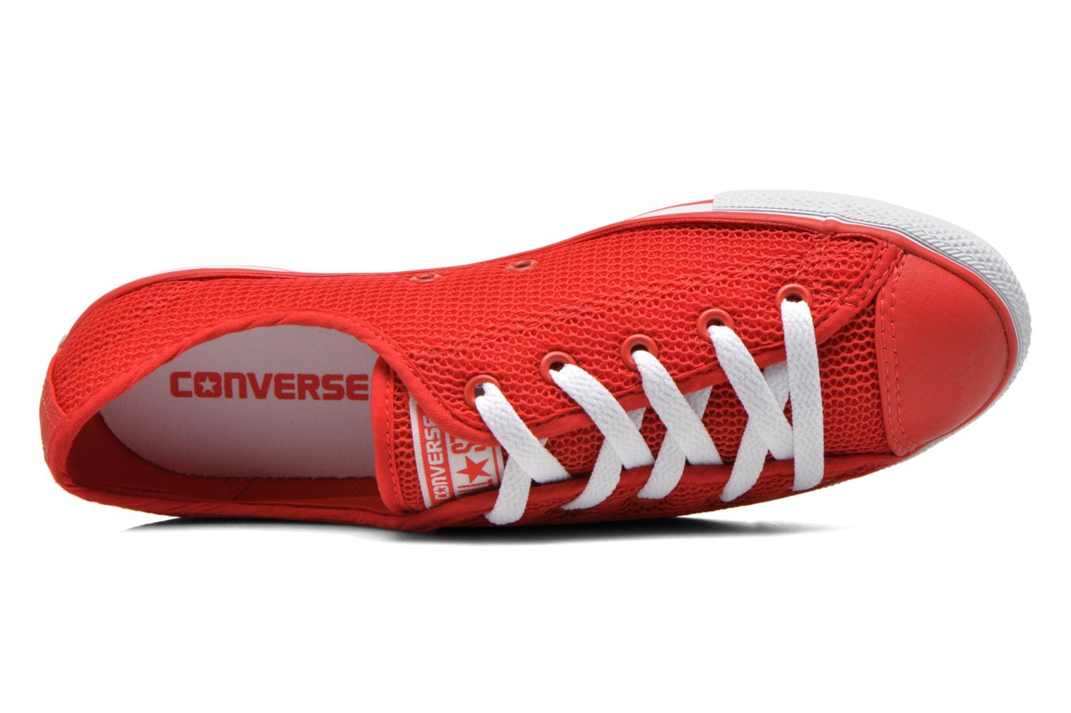 Baskets Converse Chuck Taylor All Star Dainty Ox W Rouge vue gauche