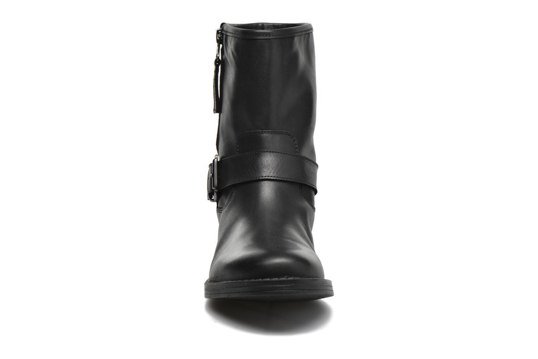 Bottines et boots Georgia Rose Celeste Noir vue portées chaussures