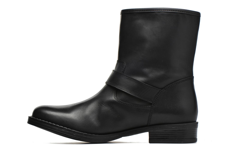Bottines et boots Georgia Rose Celeste Noir vue face