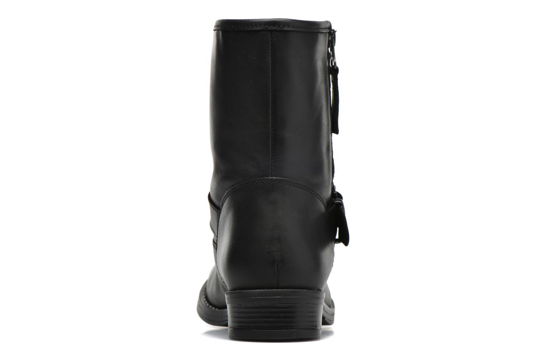 Bottines et boots Georgia Rose Celeste Noir vue droite
