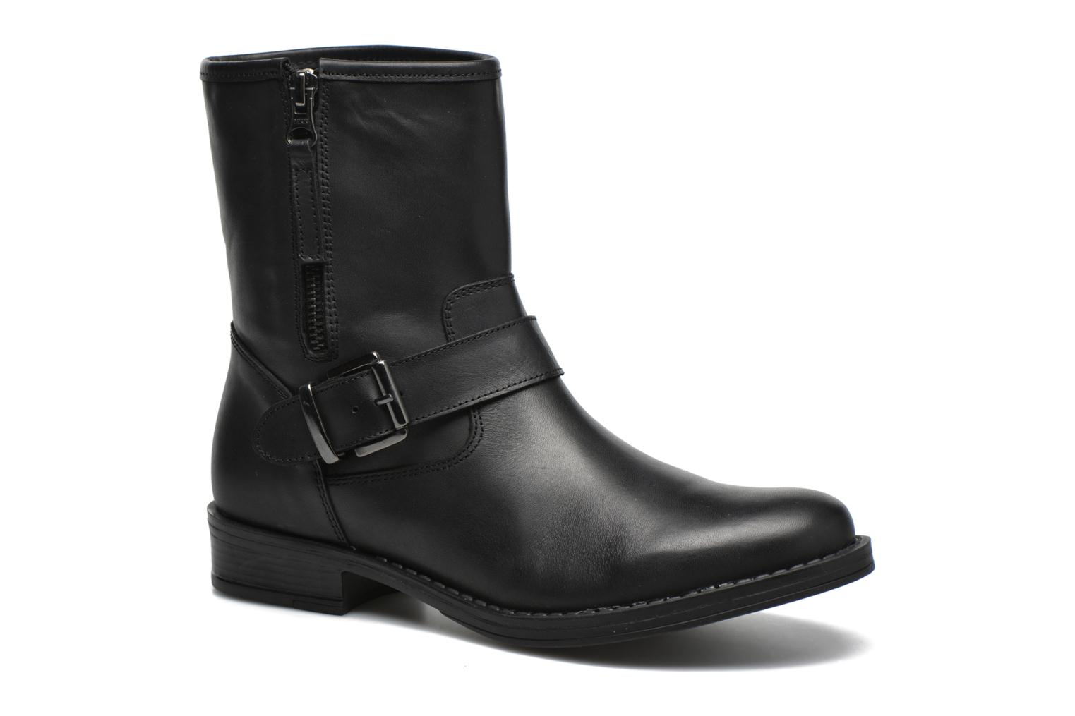 Ankle boots Georgia Rose Celeste Black detailed view/ Pair view