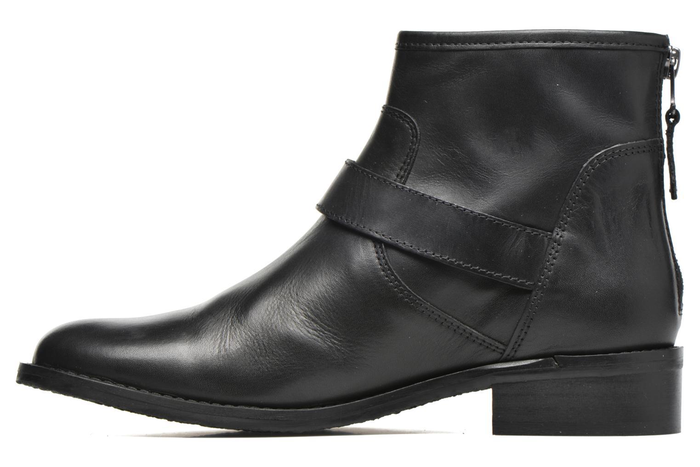 Bottines et boots Georgia Rose Celesta Noir vue face