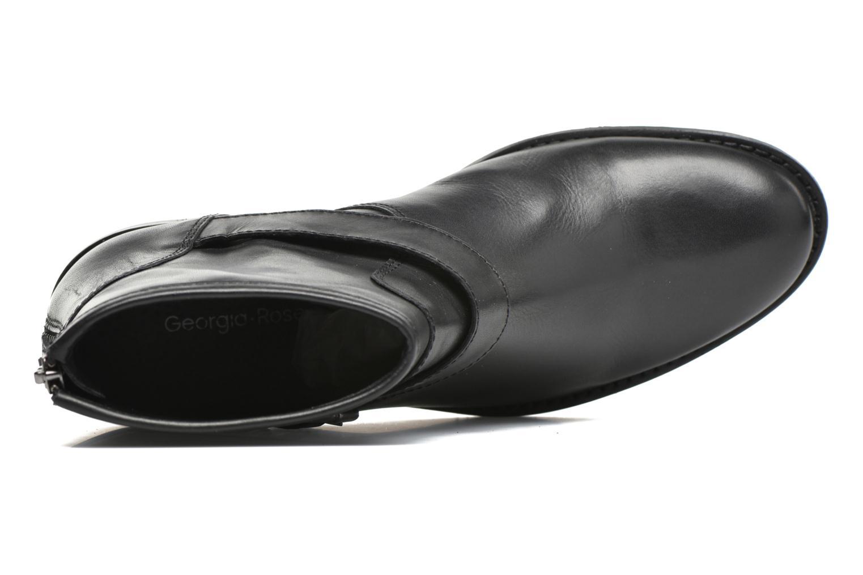 Bottines et boots Georgia Rose Celesta Noir vue gauche