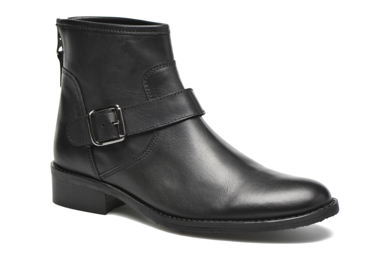 Bottines et boots Georgia Rose Celesta Noir vue détail/paire