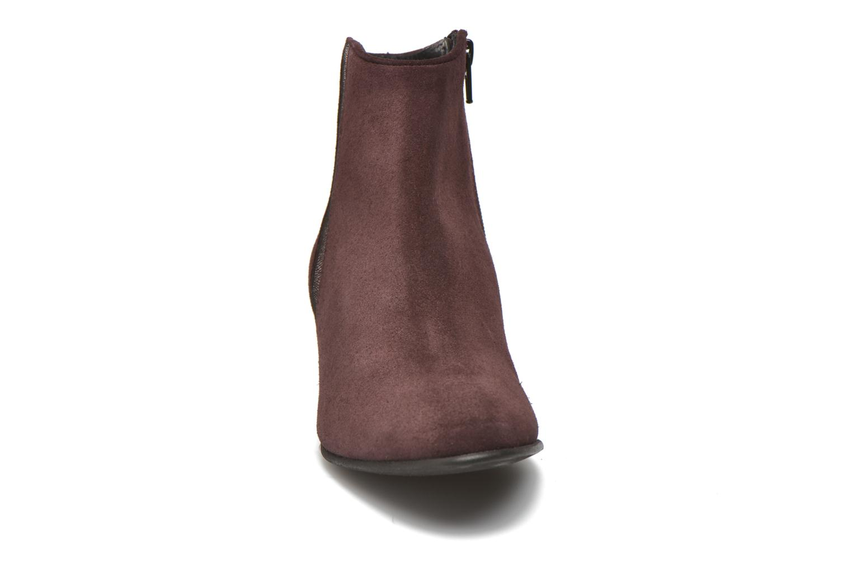 Stiefeletten & Boots Georgia Rose Celeri weinrot schuhe getragen