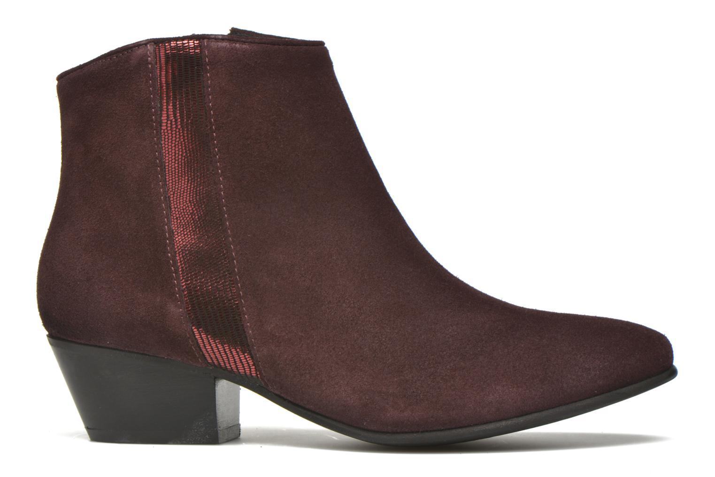 Stiefeletten & Boots Georgia Rose Celeri weinrot ansicht von hinten
