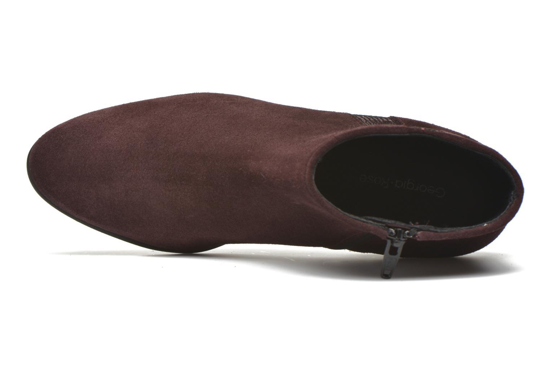 Stiefeletten & Boots Georgia Rose Celeri weinrot ansicht von links