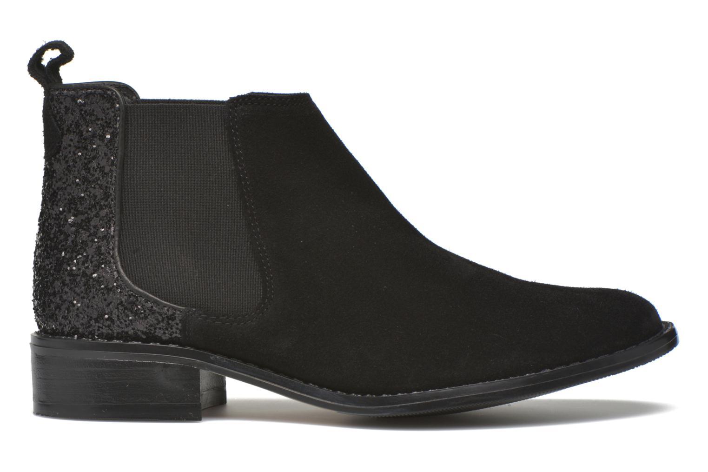 Bottines et boots Georgia Rose Celadon Noir vue derrière