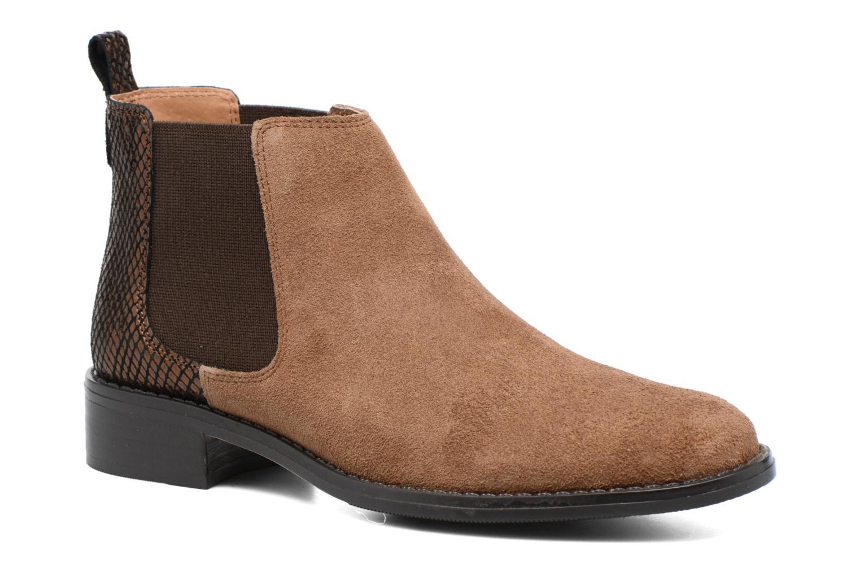 Bottines et boots Georgia Rose Celadon Beige vue détail/paire
