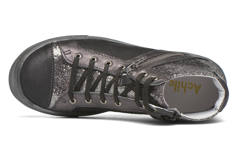 Sneakers Achile Kami Nero immagine sinistra
