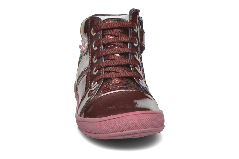 Baskets GBB Noelle Bordeaux vue portées chaussures