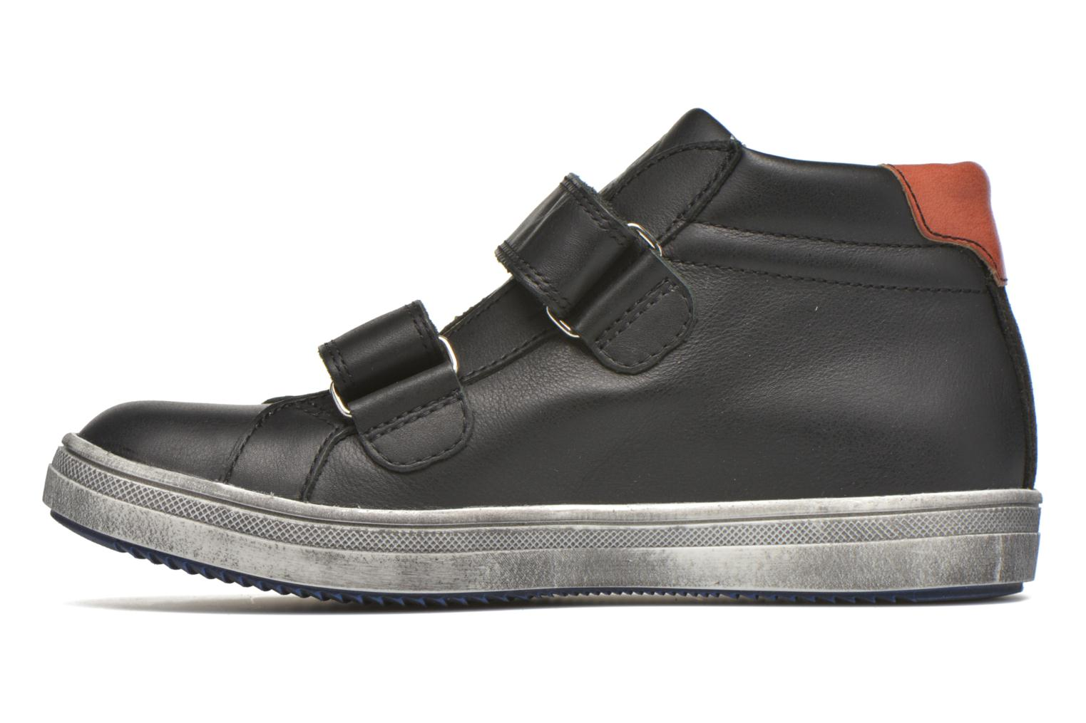 Trainers GBB Nazaire Black front view
