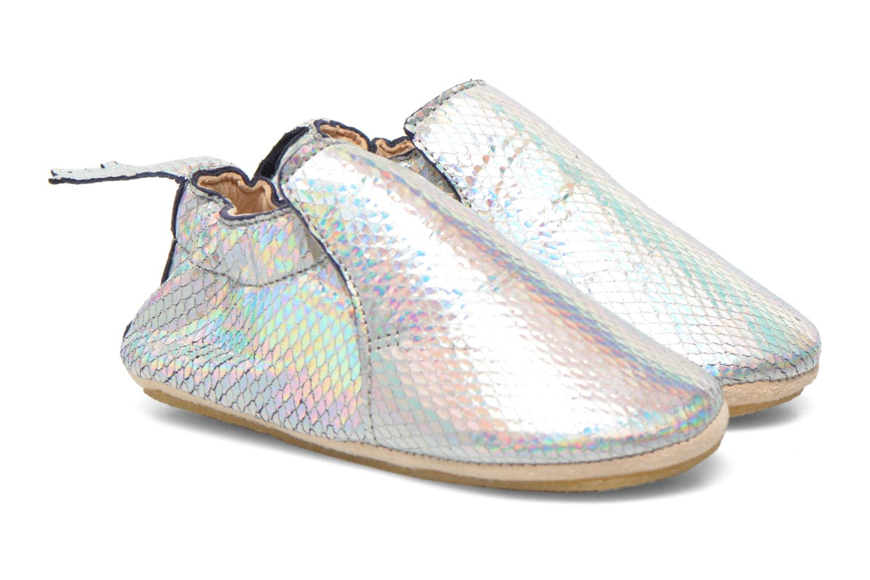 Hausschuhe Easy Peasy Blublu Print mehrfarbig schuhe getragen