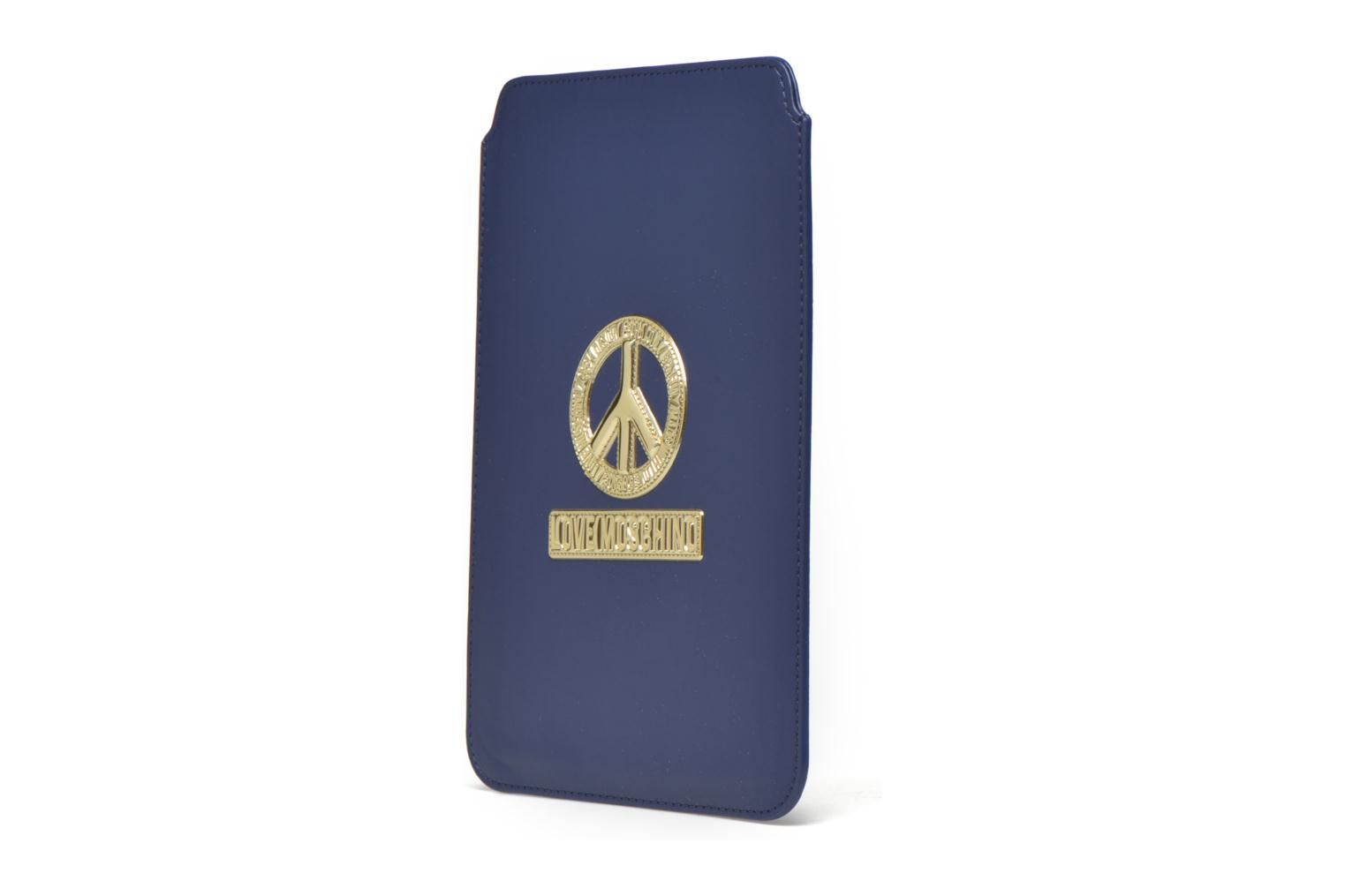 Miscellaneous Love Moschino Ipad clutch Blue model view