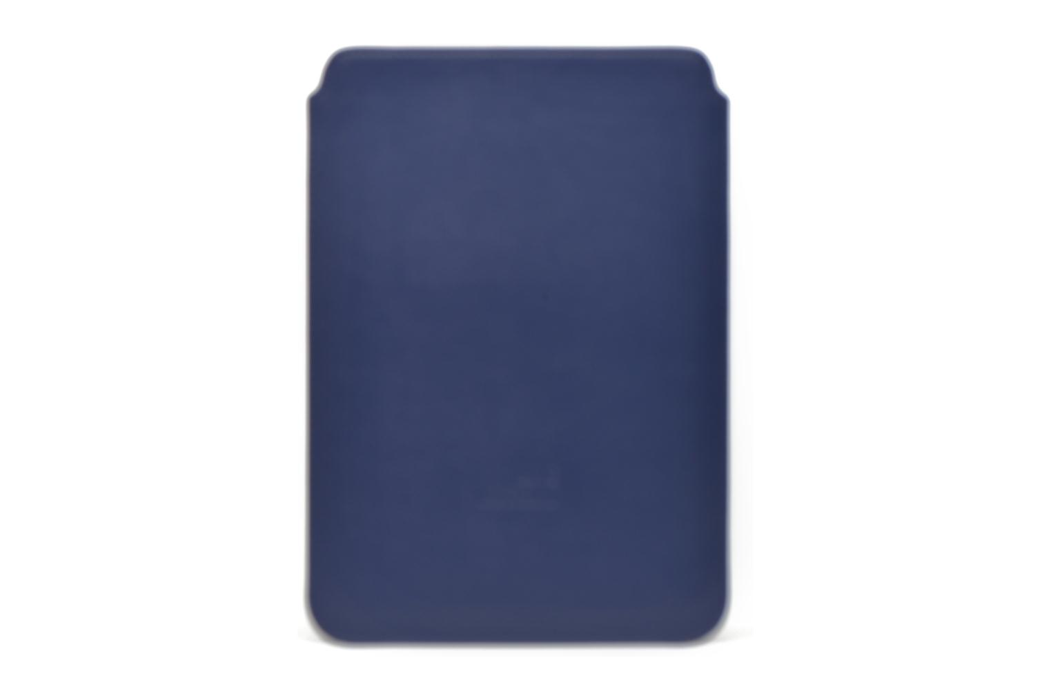 Miscellaneous Love Moschino Ipad clutch Blue front view