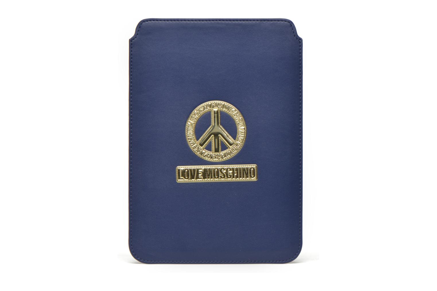Miscellaneous Love Moschino Ipad clutch Blue detailed view/ Pair view