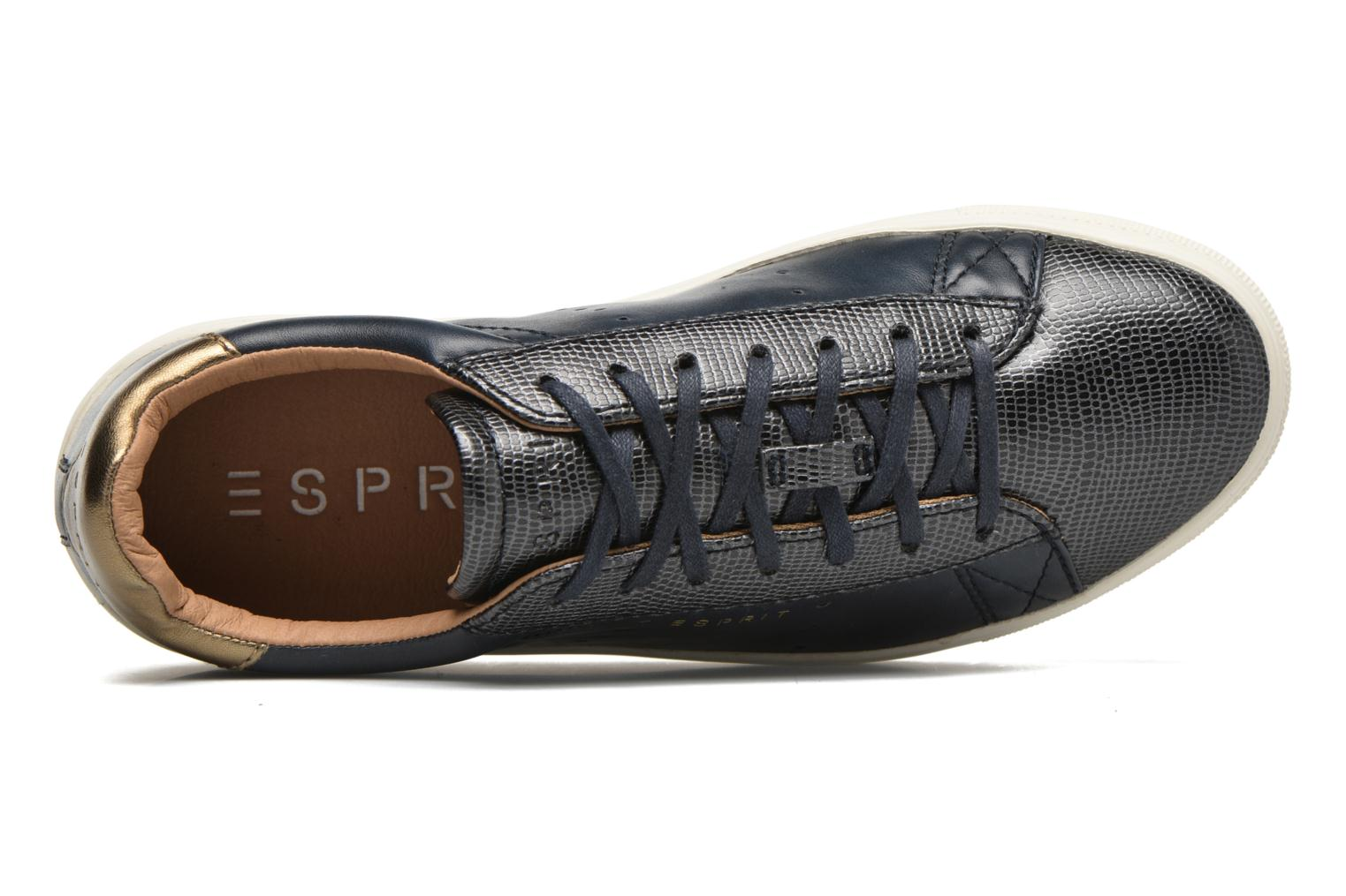 Sneaker Esprit Lizette Lace Up blau ansicht von links