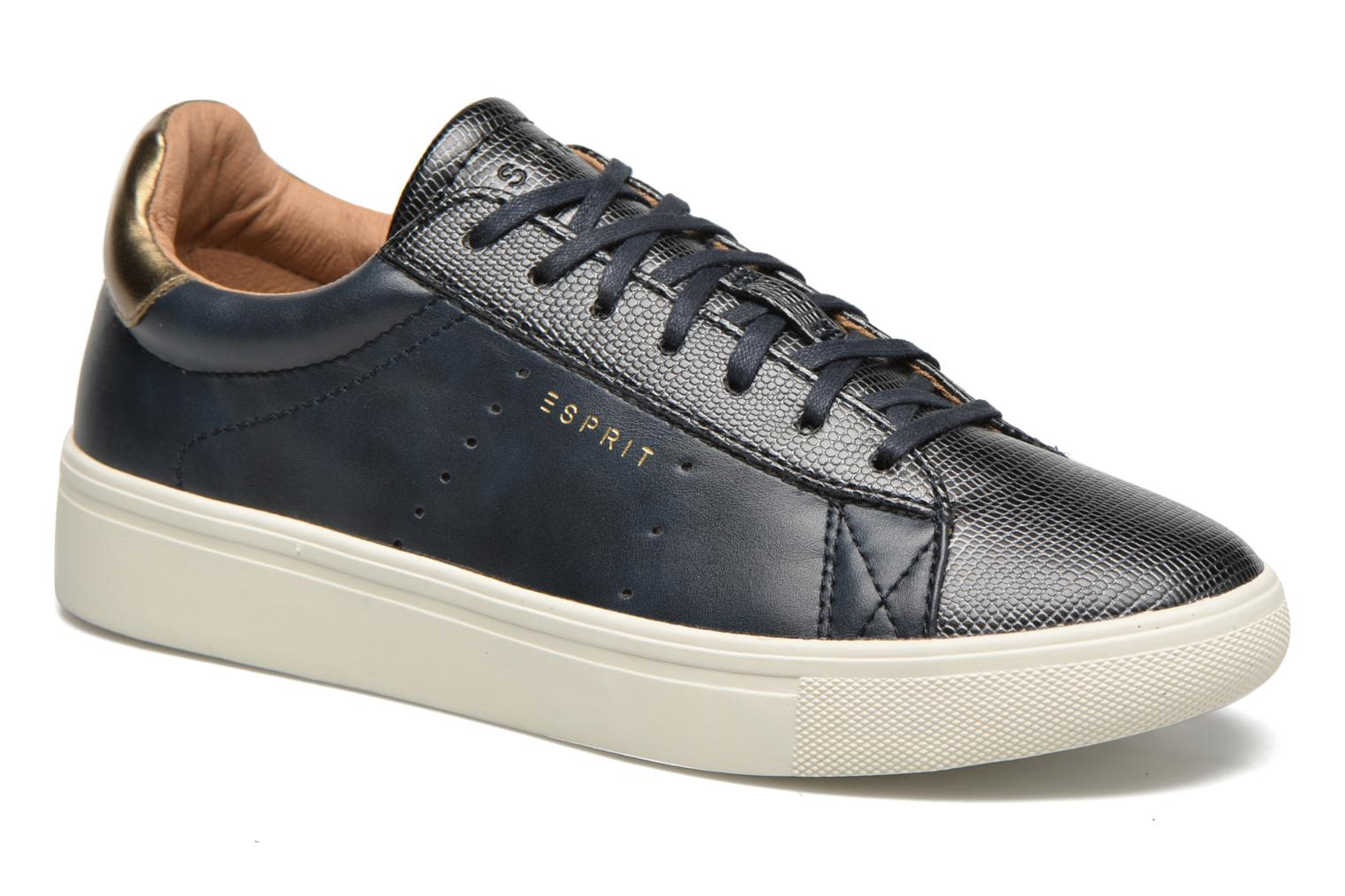 Lizette Lace Up Navy