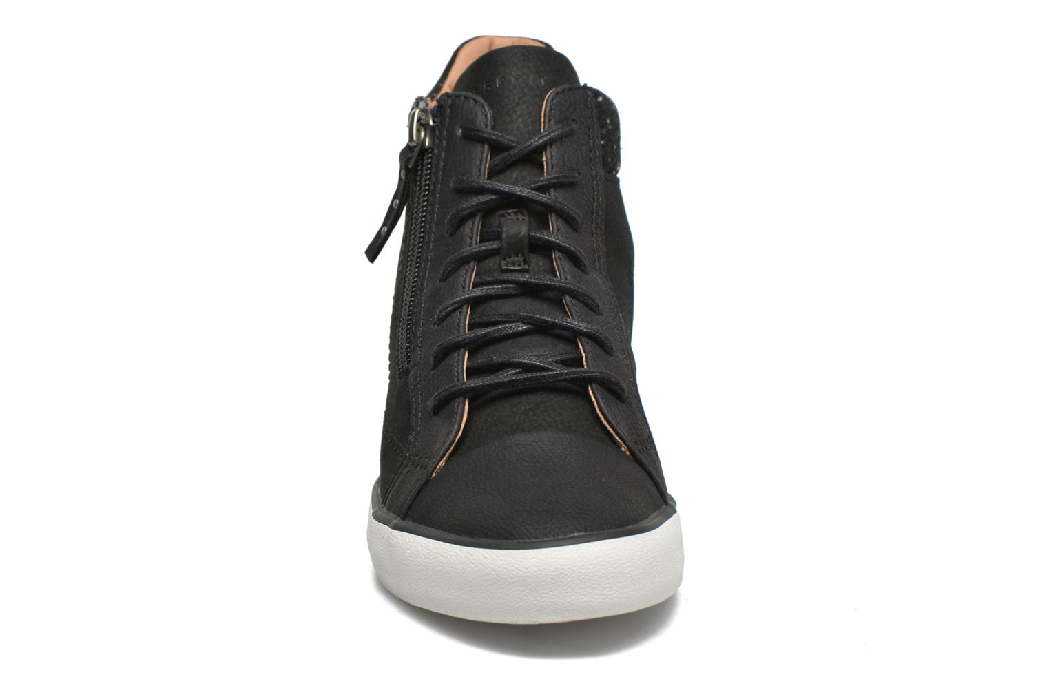Trainers Esprit Star Wedge 2 Black model view