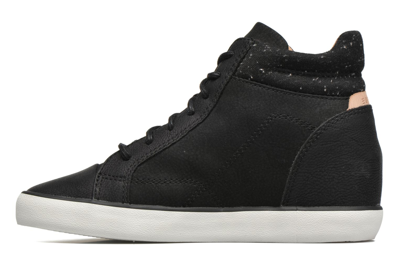 Trainers Esprit Star Wedge 2 Black front view