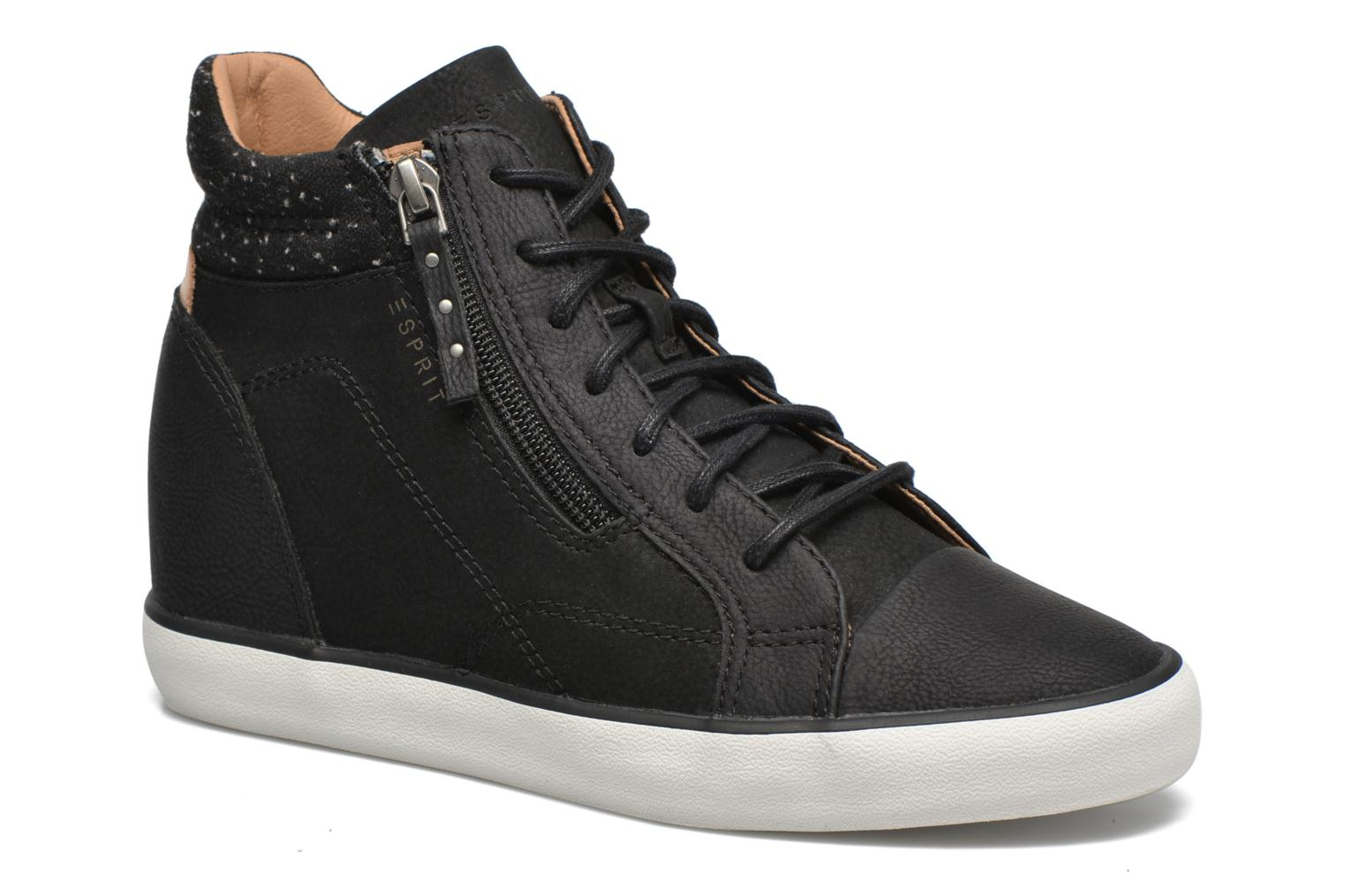 Trainers Esprit Star Wedge 2 Black detailed view/ Pair view
