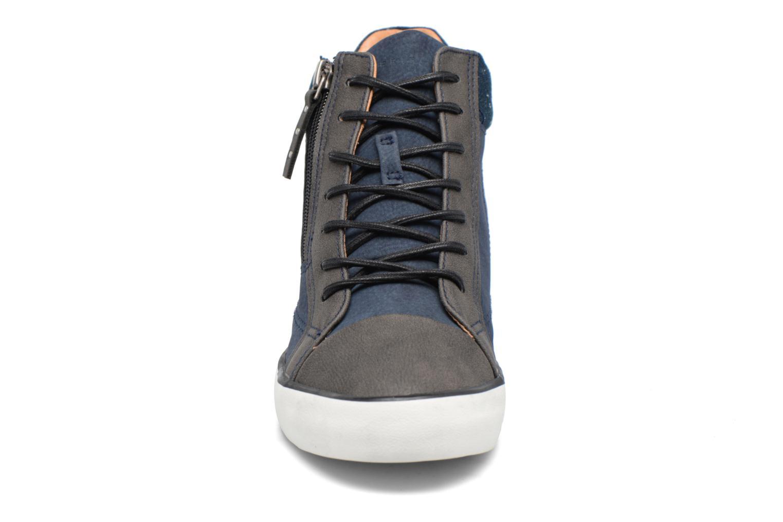 Baskets Esprit Star Wedge 2 Bleu vue portées chaussures