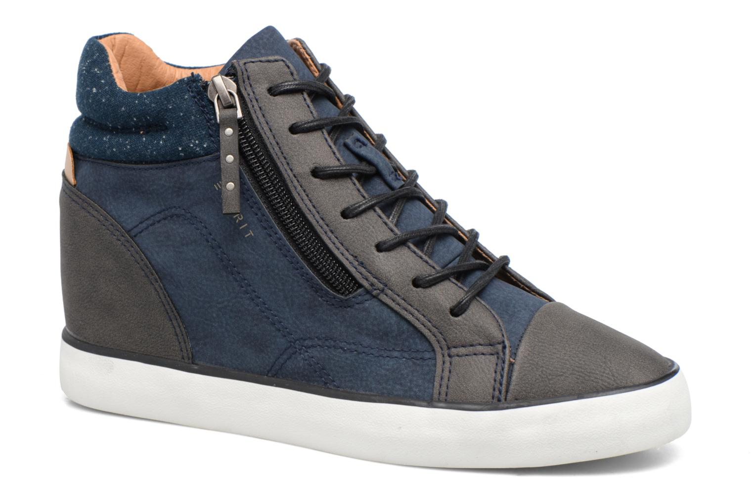 Sneakers Esprit Star Wedge 2 Blauw detail