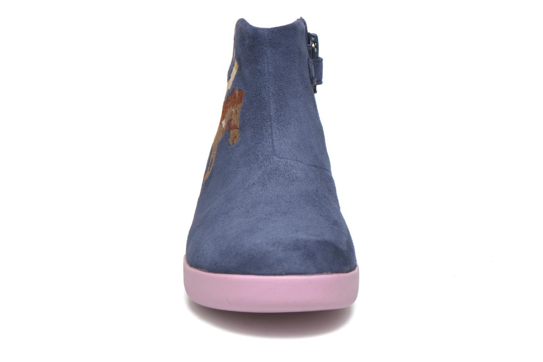 Bottines et boots Camper TWS Princess Bleu vue portées chaussures