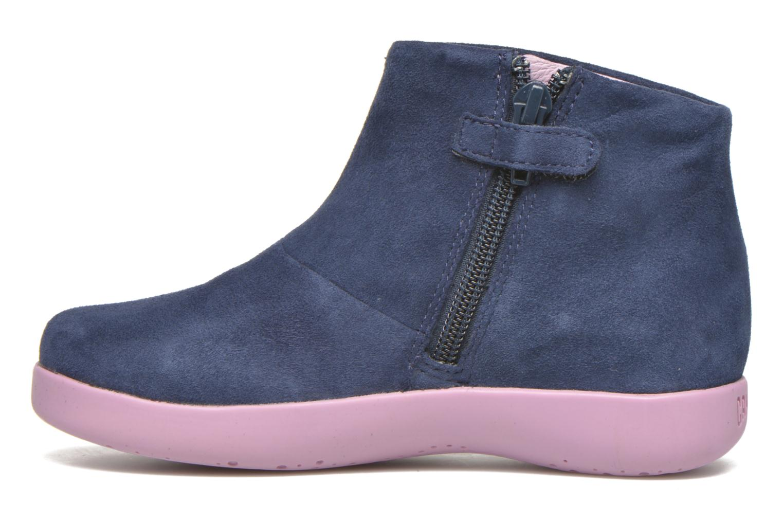 Bottines et boots Camper TWS Princess Bleu vue face