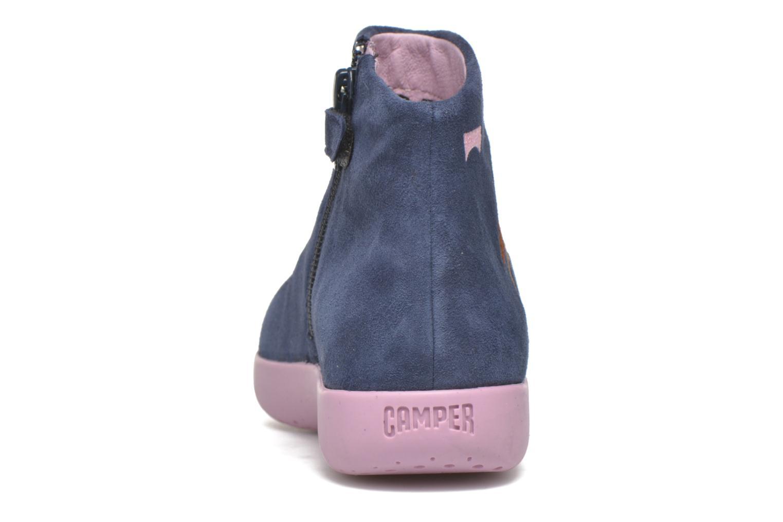 Bottines et boots Camper TWS Princess Bleu vue droite