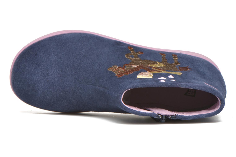 Bottines et boots Camper TWS Princess Bleu vue gauche