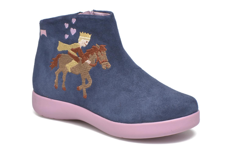 Bottines et boots Camper TWS Princess Bleu vue détail/paire