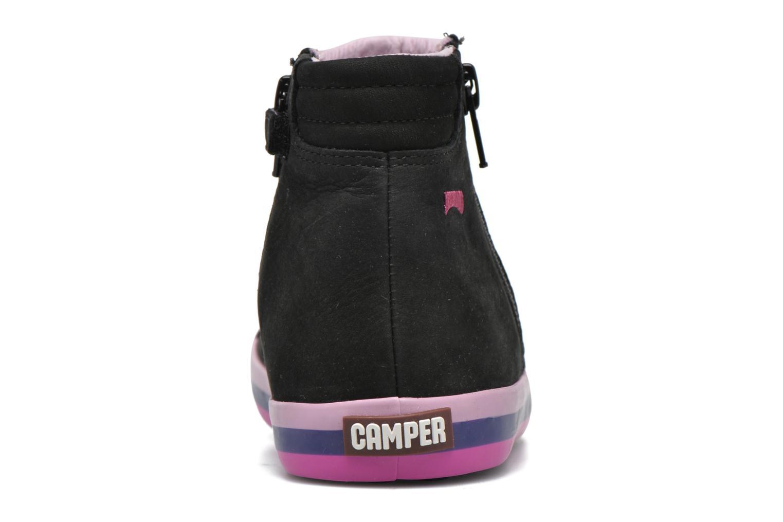 Bottines et boots Camper Pursuit Kids Noir vue droite