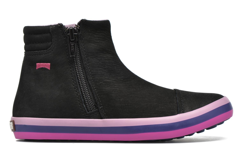 Bottines et boots Camper Pursuit Kids Noir vue derrière