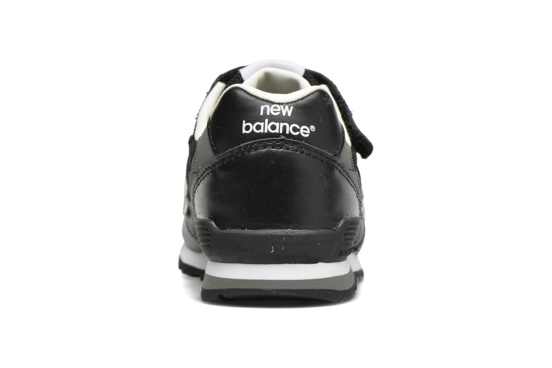 Baskets New Balance KV996 J Noir vue droite