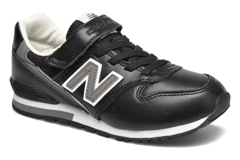 Deportivas New Balance KV996 J Negro vista de detalle / par