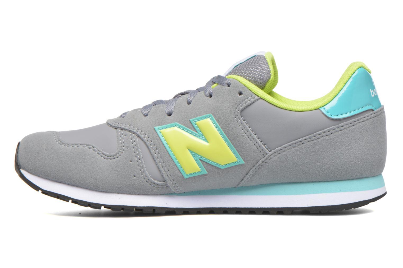 Sneaker New Balance KJ373 J grau ansicht von vorne