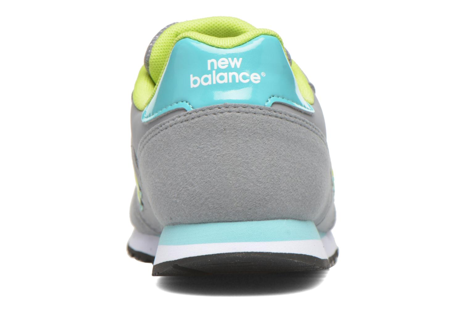 Trainers New Balance KJ373 J Grey view from the right
