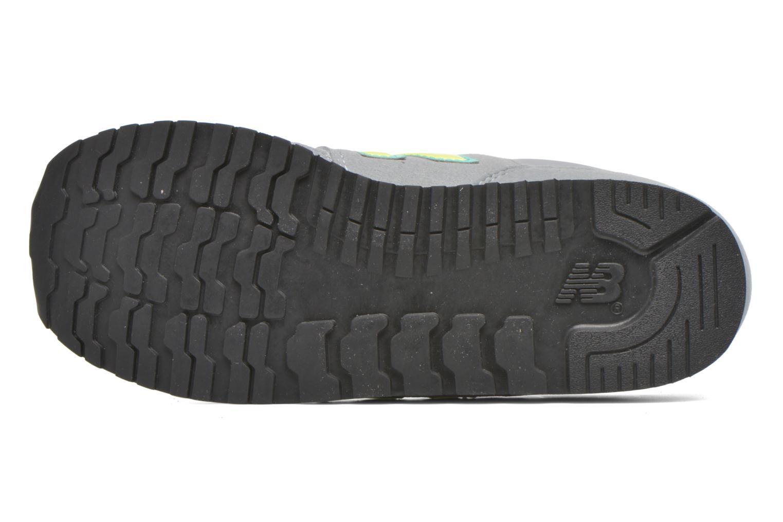 Sneaker New Balance KJ373 J grau ansicht von oben