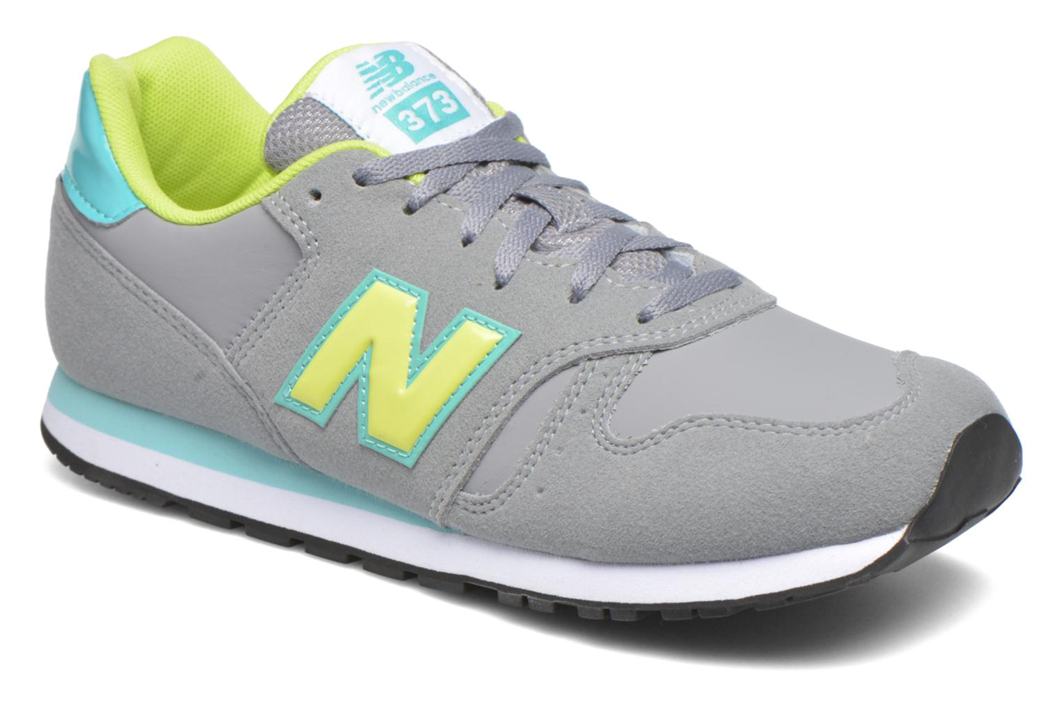 Trainers New Balance KJ373 J Grey detailed view/ Pair view