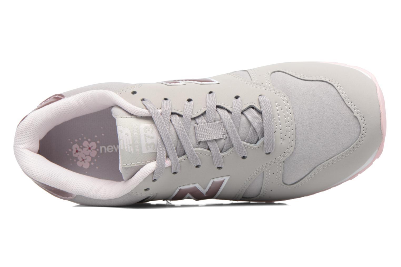 Sneaker New Balance KJ373 J grau ansicht von links