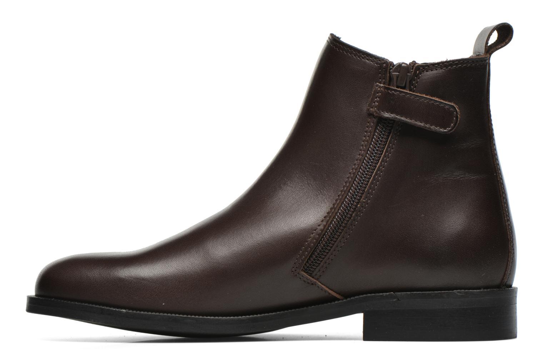 Bottines et boots Little Mary Toby Marron vue face