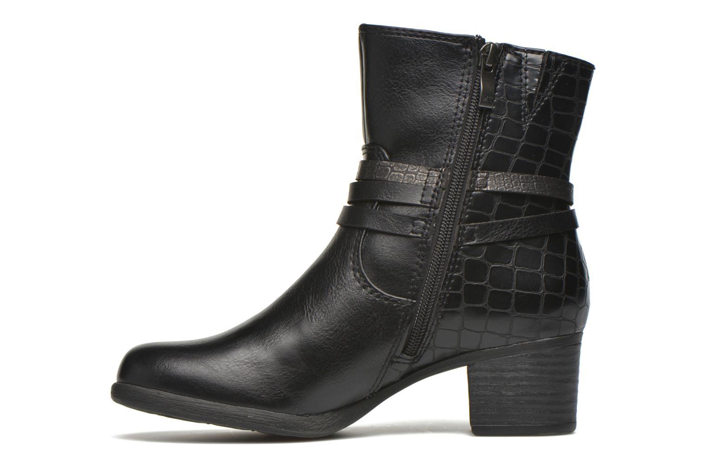 Bottines et boots Marco Tozzi Limba Noir vue face