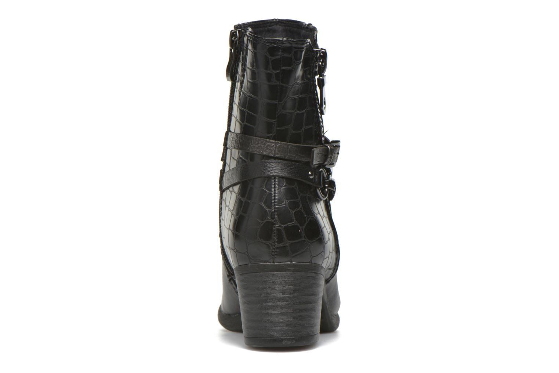 Bottines et boots Marco Tozzi Limba Noir vue droite
