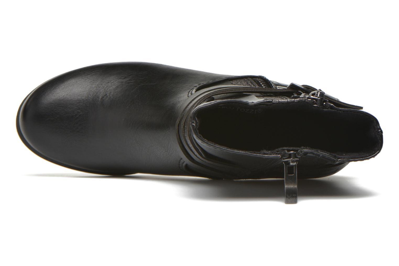 Bottines et boots Marco Tozzi Limba Noir vue gauche