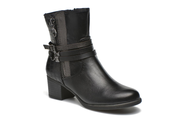 Bottines et boots Marco Tozzi Limba Noir vue détail/paire